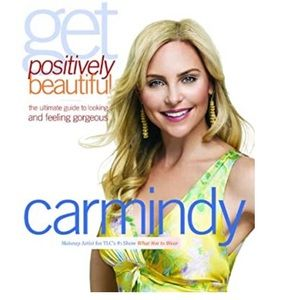 Carmindy Get Positively Beautiful Hardcover Book